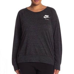 Nike Sportswear Gym Vintage Crew Sweatshirt sz 1X